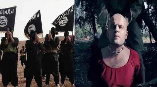 ISLAMICI BRUCIANO VIVO PILOTA SIRIANO – VIDEO CHOC