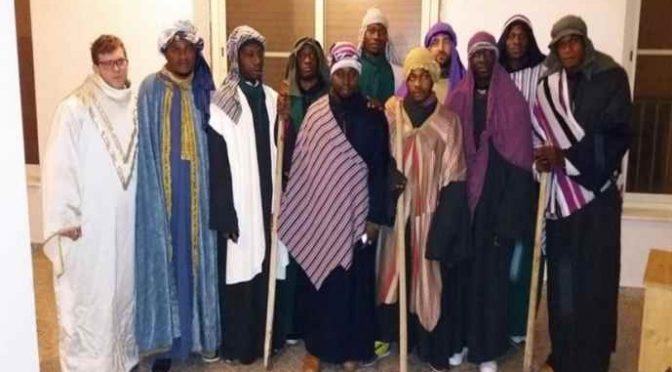 Chieti, nel Presepe vivente patrocinato dal PD Gesù è una femmina africana