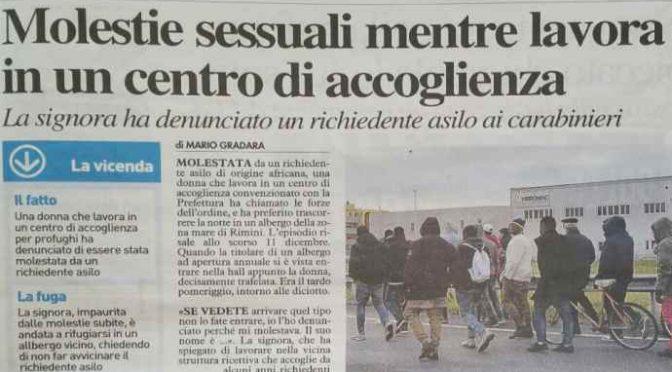 Profughi molestano cameriere a Rimini, il terrore e la fuga