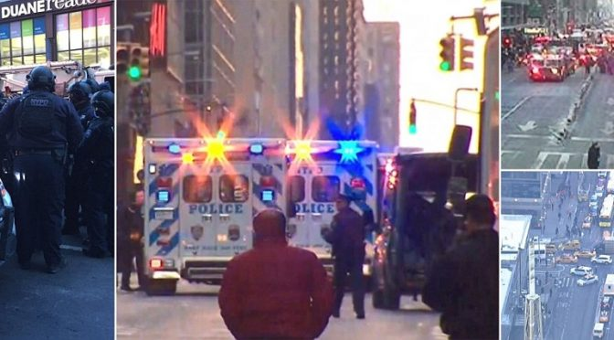Bomba a New York: bloccato kamikaze islamico – VIDEO