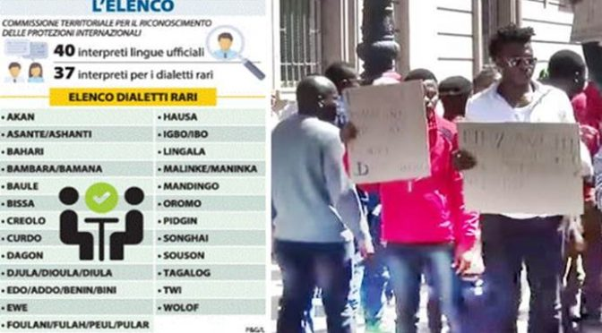 Milano, 300mila euro per tradurre le 77 lingue dei Profughi