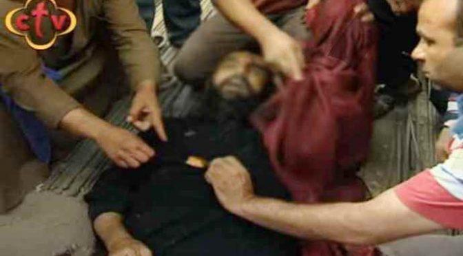 Prete sgozzato da islamico, croce incisa sul corpo