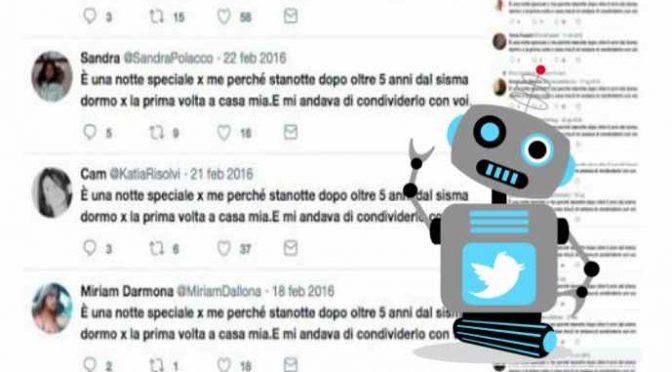 """""""Felici di tornare a casa"""": su Twitter falsi terremotati"""