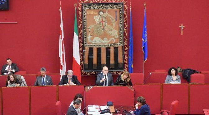 Crocifisso affisso in Comune a Genova per la prima volta
