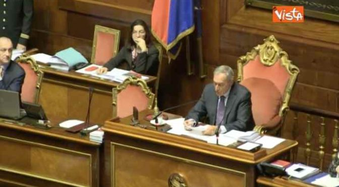 """Grasso spinge per alleanza con M5S: """"Decido io, non Boldrini"""""""