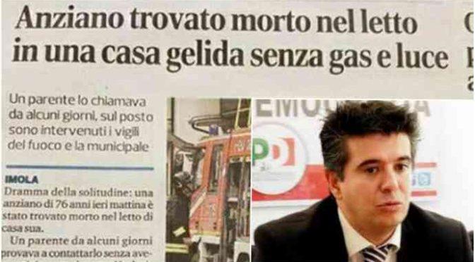Anziano italiano muore di freddo, mentre sindaco PD pensa ai profughi