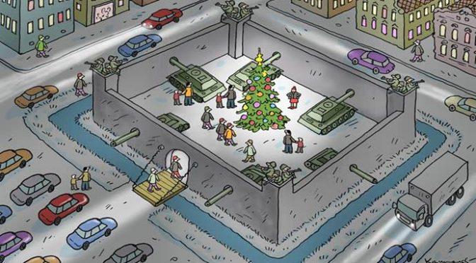 """Vietato scrivere la parola """"Natale"""", per non turbare Islamici"""