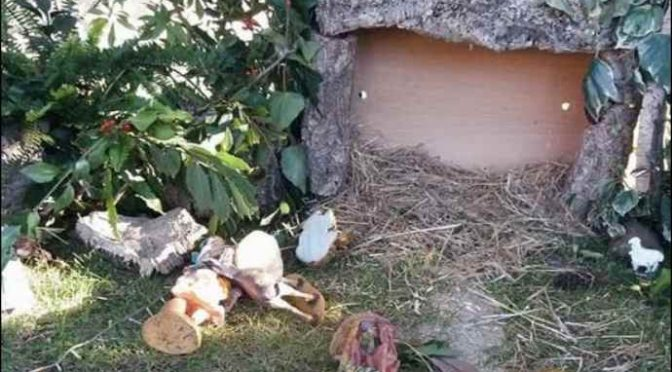 Attacco al Natale: Presepe distrutto a Norbello