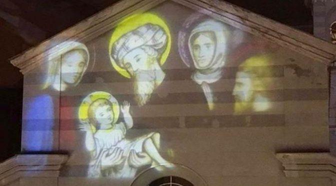 Ventimiglia, polemiche per donna con hijab e uomo col turbante nel Presepe