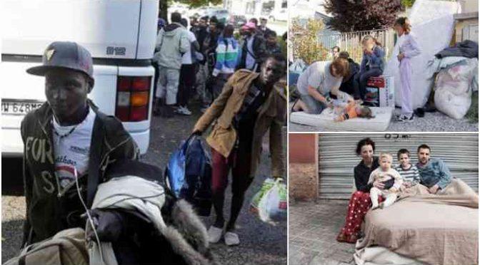 """Forza Italia: """"Famiglie sfrattate a Natale per fare posto ai profughi"""""""