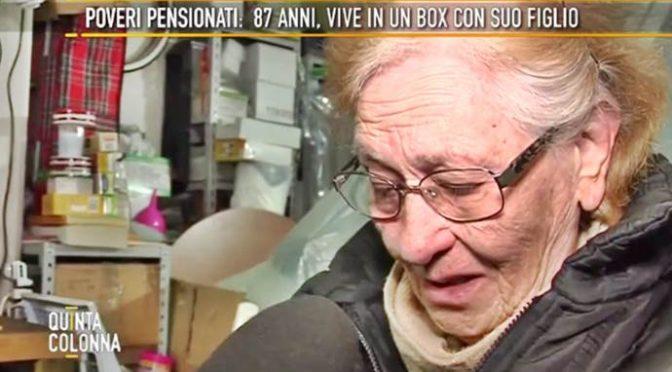 Roma, pensionata di 86 anni vive in garage: Comune dà mille euro a chi accoglie africani