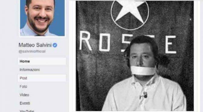 "Salvini sfida Boldrini: ""Sinistra evoca le BR"""