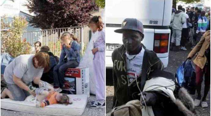 Famiglie sfrattate per fare posto ai profughi, Mamme in lacrime dal sindaco – VIDEO
