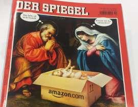 Amazon consegna Gesù Bambino online: copertina di «Der Spiegel» fa riflettere