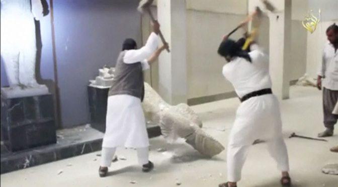 Parlamento copre le statue per non offendere i musulmani