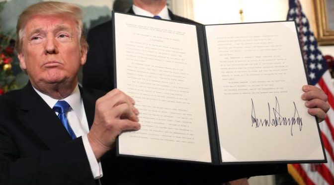 Vittoria Trump, bando islamici è costituzionale