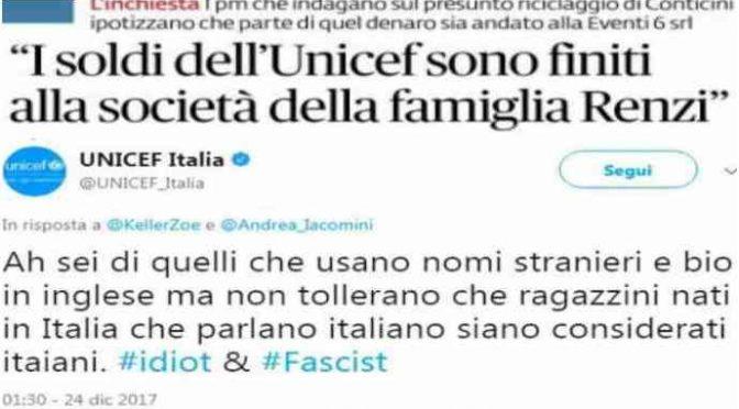 Unicef Italia incassa 60 milioni all'anno per offendere gli Italiani: le aziende che li finanziano