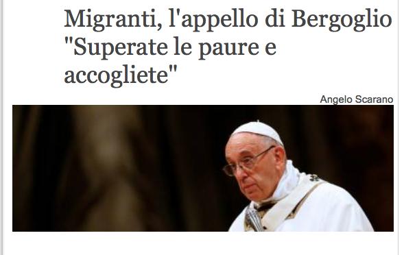 """Socci affonda Bergoglio: """"Tu sei nemico dell'Italia"""""""