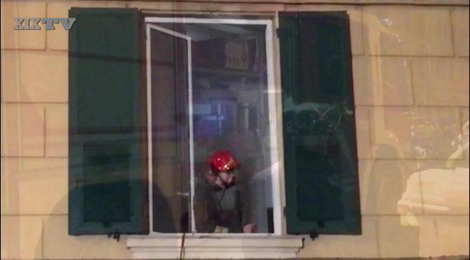 Genova: soffitto crolla in testa ai profughi, allertati hotel