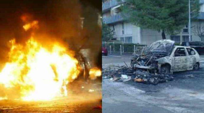 Parigi: 'giovani' bruciano 134 auto nella notte