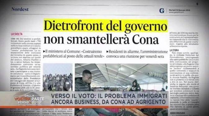 Minniti bugiardo, aveva promesso chiusura centro profughi: invia le casette – VIDEO