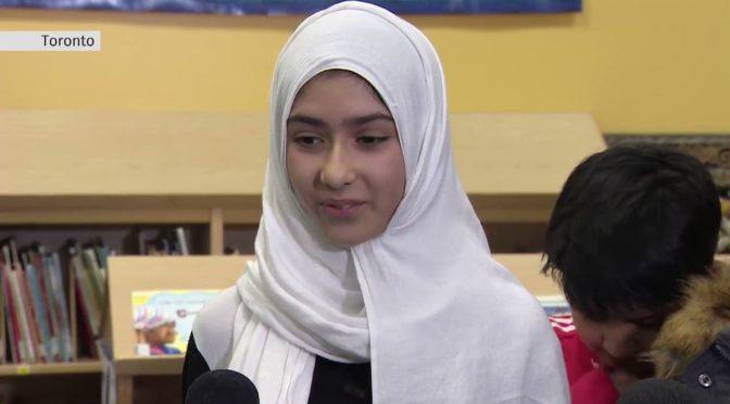 La bufala del razzista che ha tagliato l'hijab alla bambina islamica
