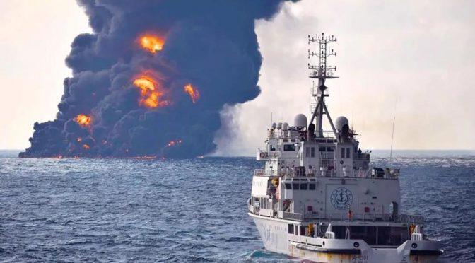Modello cinese, affonda petroliera con 136mila tonnellate di greggio a bordo