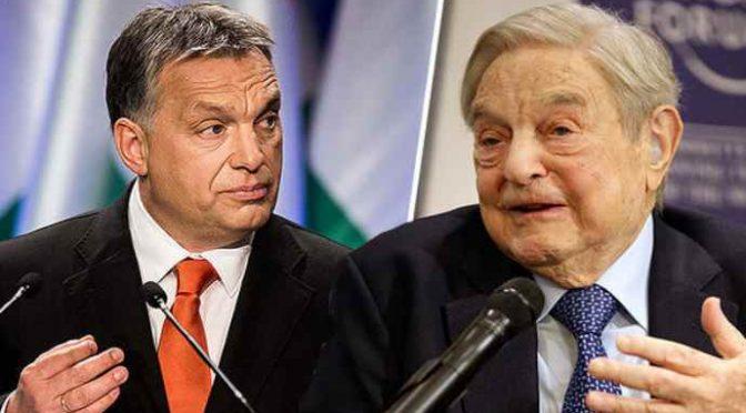 I teppisti di Soros attaccano parlamento ungherese