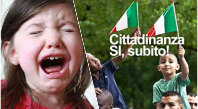 Bimba italiana perseguitata da immigrati minaccia suicidio: «La picchiano, noi genitori siamo impotenti»
