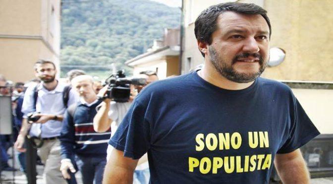 "Salvini respinge minacce Merkel: ""A italiani pensiamo noi"""
