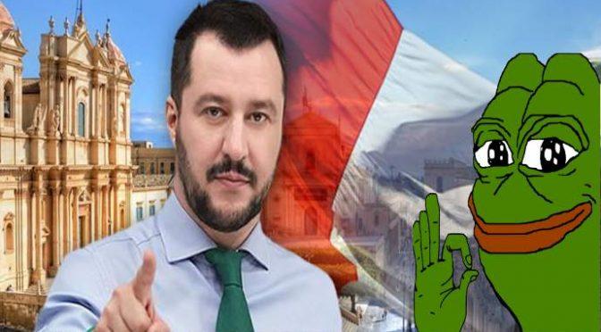 E' svolta, Salvini: «Con questo governo famiglie avranno un papà e una mamma»