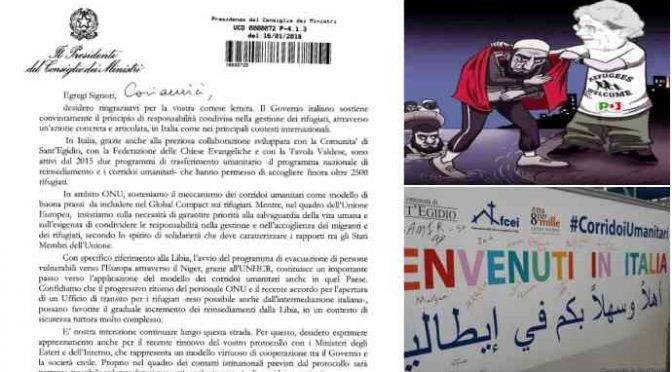 """Gentiloni annuncia: """"Se vinciamo, ponte aereo immigrati dal Niger"""" – LEGGI"""