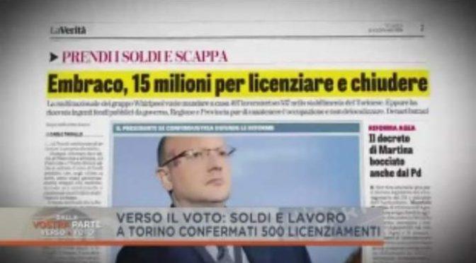 Senza frontiere e dazi: multinazionale licenzia 500 italiani e scappa – VIDEO