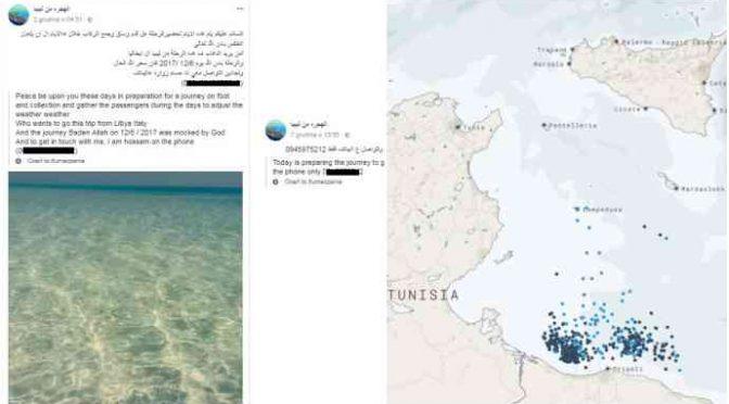 Clandestini, traffico organizzato su Facebook e Twitter