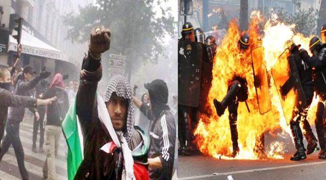 Guerra razziale in Francia: afroislamici contro Polizia e Vigili del Fuoco