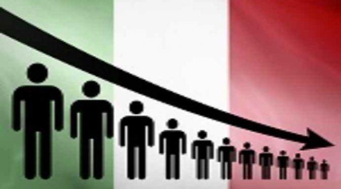 Italiani in via di estinzione: minoranza in una generazione