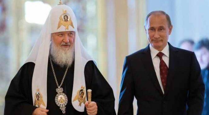 """Patriarca Kirill: """"Putin ha salvato i cristiani dal genocidio in Siria"""""""