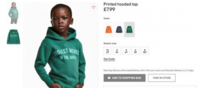 """Minaccia attacco contro negozi H&M per pubblicità """"razzista"""" – VIDEO"""