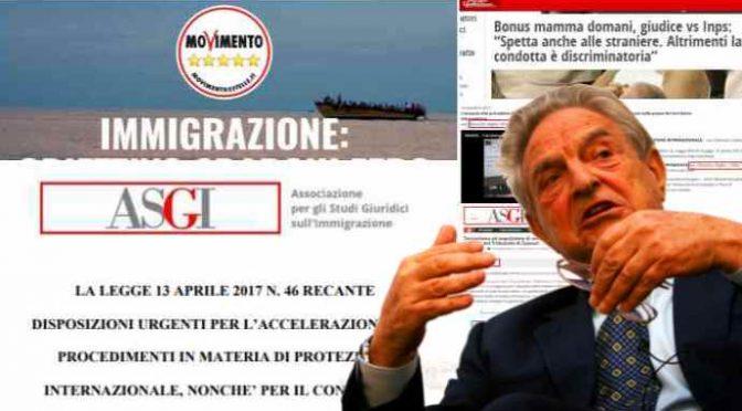 Uomini di Soros hanno scritto il programma immigrazione del M5S