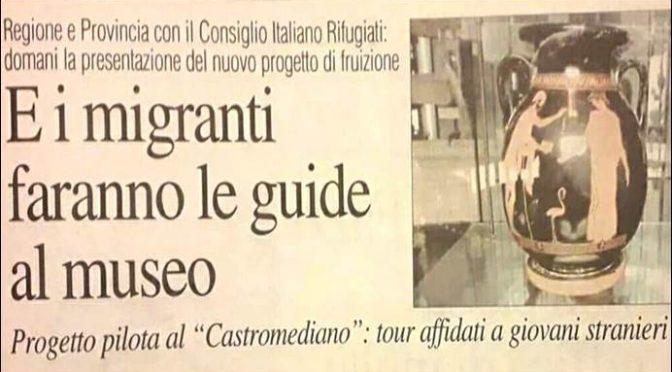 """Assunti 30 migranti al museo: """"Discriminati gli italiani"""""""