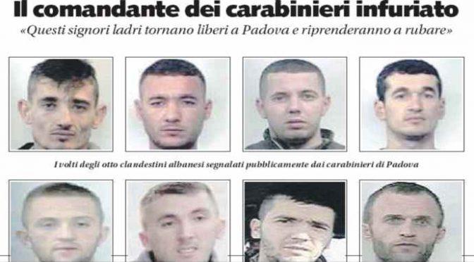 """Il comandante dei carabinieri furioso: """"Noi li arrestiamo e tornano liberi per rubare"""""""