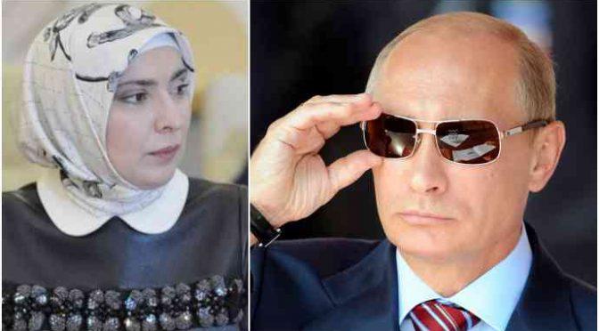 Islamica velata sfida Putin per corsa a Cremlino