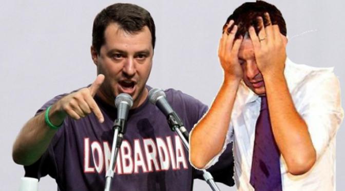 Sondaggio choc: Lega supera il PD, Cdx sfonda il 40%