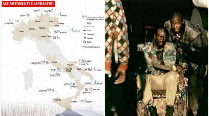 Italia invasa dai nigeriani: gli slum della mafia nigeriana