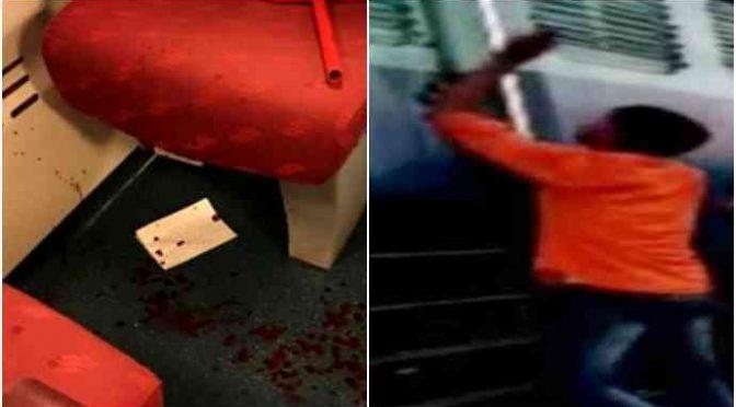 Milano: gang di immigrati assalta treno, passeggeri accoltellati
