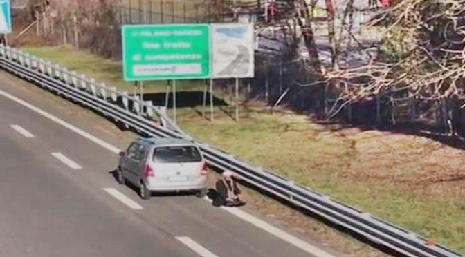 Identificato islamico autostrada Varese, solo multato!