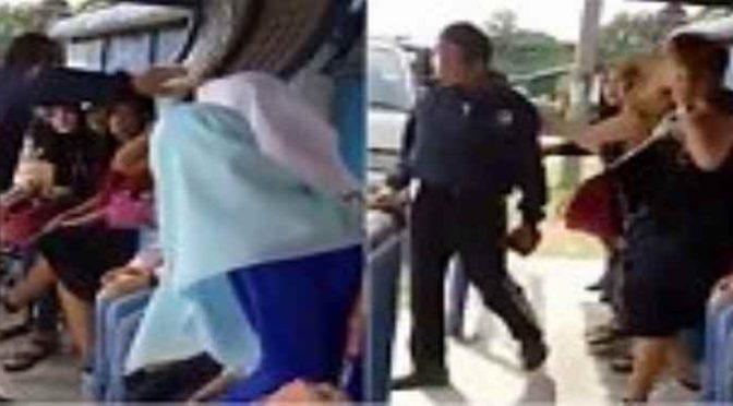 Islamico la prende a schiaffi perché non porta velo – VIDEO