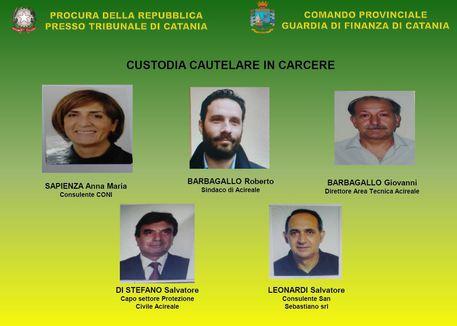 RETATA AD ACIREALE, ARRESTATO SINDACO DI CENSTROSINISTRA