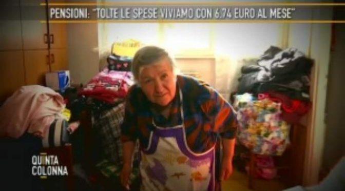 Coppia di pensionati italiani prende, in due, meno soldi di 1 profugo – VIDEO