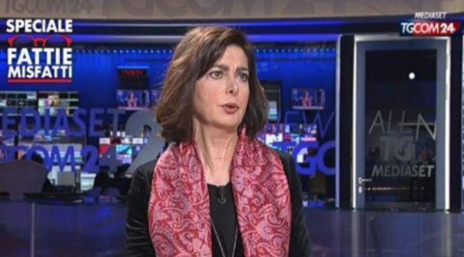 "Boldrini: ""Come si fa a mandare via chi non ha documenti?"" – VIDEO"